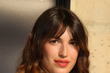 Jeanne Damas Miu Miu 2019 Cruise Collection Show : Photocall - Paris
