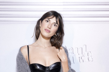 Jeanne Damas Jean-Paul Gaultier - 50th Birthday Cocktail And Party - Photocall