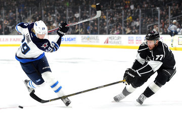 Jeff Carter Winnipeg Jets v Los Angeles Kings