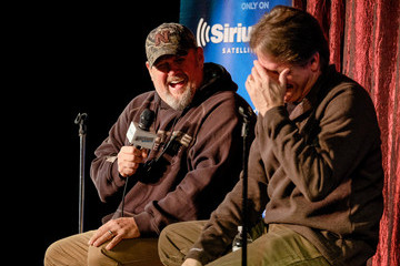 Jeff Foxworthy SiriusXM Presents Jeff Foxworthy and Larry the Cable Guy at the Funny Bone Club In Omaha, NE For A Special Comedic Conversation To Air On SiriusXM's Jeff & Larry's Comedy Roundup Channel