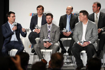 Jeff Gordon NASCAR Industry Stakeholders Discuss 2017 Season