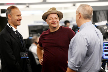 Jeff Ross Annual Charity Day Hosted By Cantor Fitzgerald, BGC and GFI - Cantor Fitzgerald Office - Inside