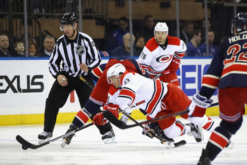 Jeff Skinner Carolina Hurricanes v New York Rangers