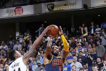 Jeff Teague Cleveland Cavaliers v Indiana Pacers - Game Four