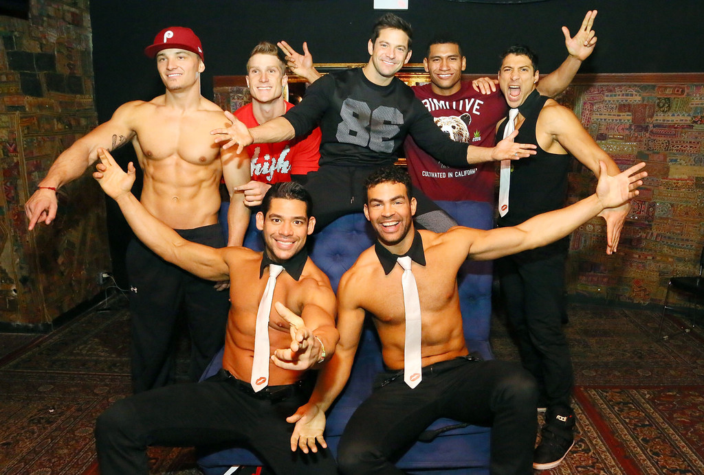 Chris Boudreaux Photos»Photostream · Main · Articles · Pictures · Men of  the Strip Pose in NYC