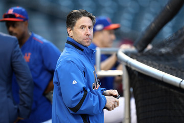 Jeff Wilpon Wild Card Game - San Francisco Giants v New York Mets