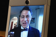 Peter Diamandis speaks via robot onstage during the Jefferson Awards Foundation 2017 NYC National Ceremony at Gotham Hall on March 15, 2017 in New York City.
