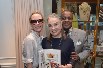 Jeffrey Banks Ralph Lauren Beverly Hills Hosts Patricia Underwood 'The Way You Wear Your Hat' Book Signing
