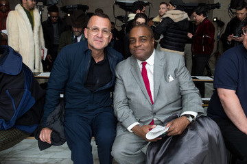 Jeffrey Banks Perry Ellis - Front Row - February 2018 - New York Fashion Week Mens'