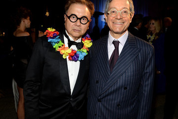 "Jeffrey Deitch Michael Chow ""Yesssss!"" 2013 MOCA Gala, Celebrating The Opening Of The Exhibition Urs Fischer - Dinner"