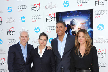 "Jeffrey Katzenberg Christina Steinberg AFI FEST 2012 Presented By Audi - ""Rise Of The Guardians"" Premiere - Arrivals"