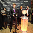 Jeffrey Straus Times Square Prepares For 2015 - The Waterford Crystal Installation
