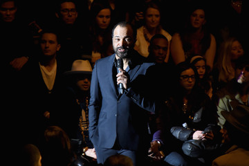 Jeffrey Wright Naomi Campbell's Fashion For Relief Charity Fashion Show - Front Row