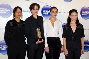 Jehnny Beth Arrivals at the Barclaycard Mercury Prize