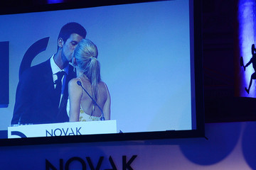 Jelena Ristic The Novak Djokovic Foundation New York Dinner - Inside