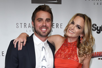 Jena Sims Premiere of Syfy's 'Sharknado: The 4th Awakens' at The Stratosphere in Las Vegas