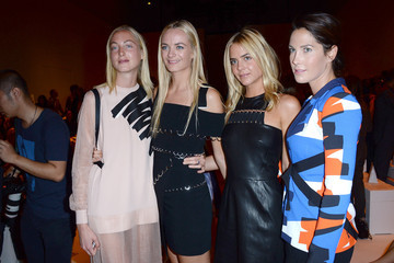 Jenna Courtin-Clarins Mugler : Front Row - Paris Fashion Week Womenswear Spring/Summer 2015