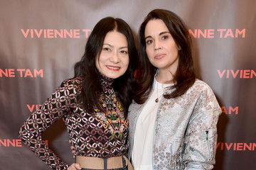 Jenna Leigh Green Vivienne Tam - Backstage - February 2018 - New York Fashion Week: The Shows