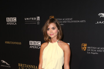 Jenna-Louise Coleman BAFTA Los Angeles Jaguar Britannia Awards Presented By BBC America And United Airlines - Arrivals
