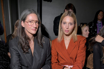 Jenna Lyons Brandon Maxwell - Front Row - February 2020 - New York Fashion Week