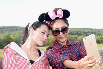 Jenni Farley Nicole Polizzi Hosts a Joint Birthday Party for Her Children Lorenzo and Giovanna