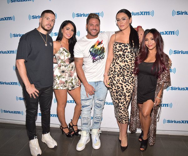 Celebrities Visit SiriusXM - July 9, 2019