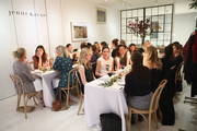 Guests attend Dinner to Celebrate Jenni Kaynes Tribeca Boutique with Amy Astley and Meredith Melling at 20 Harrison Street on November 15, 2017 in New York City.