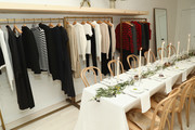 Clothing on display at Dinner to Celebrate Jenni Kaynes Tribeca Boutique with Amy Astley and Meredith Melling at 20 Harrison Street on November 15, 2017 in New York City.