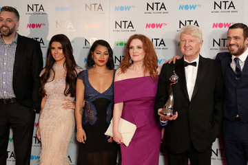 Jennie Mcalpine National Television Awards - Press Room
