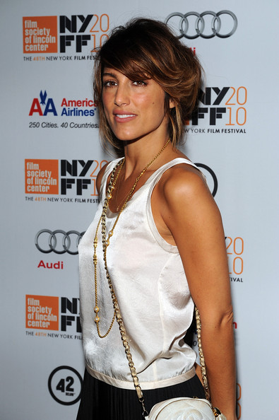 jennifer esposito actress. Actress Jennifer Esposito attends the quot;LENNONYCquot; premiere during the 48th New York Film Festival at Alice Tully Hall, Lincoln Center on September 25,