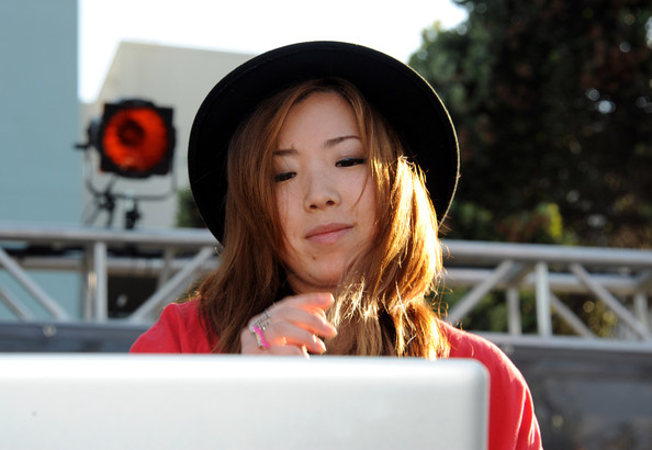 Jennifer Lee Jennifer Lee aka DJ TOKiMONSTA spins during the celebration of