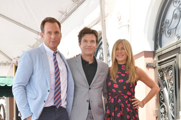 Jennifer Aniston Jason Bateman Honored With Star on the Hollywood Walk of Fame