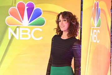 Jennifer Beals NBCUniversal Press Junket