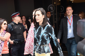 Jennifer Connelly Variety Studio Presented By Moroccanoil At Holt Renfrew - Day 2 - 2014 Toronto International Film Festival