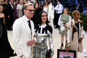 Jennifer Connelly Paul Bettany Heavenly Bodies: Fashion & The Catholic Imagination Costume Institute Gala - Arrivals