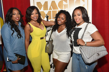 Jennifer Drake Celebrities Attend the 'Magic Mike XXL' Advanced Screening in Atlanta