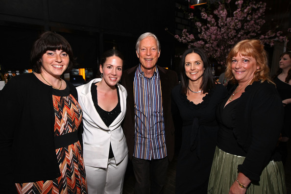 The Perfect Family's Premiere After-Party At The Tribeca Film Festival, Presented By American Express [the perfect family,event,fashion,fun,night,photography,party,performance,formal wear,richard chamberlain,anne renton,jennifer dubin,coro olsen,l-r,american express,premiere,the tribeca film festival,premiere]