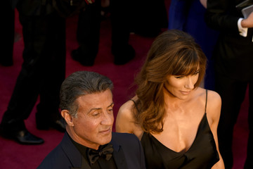 Jennifer Flavin 88th Annual Academy Awards Arrivals From a Distance
