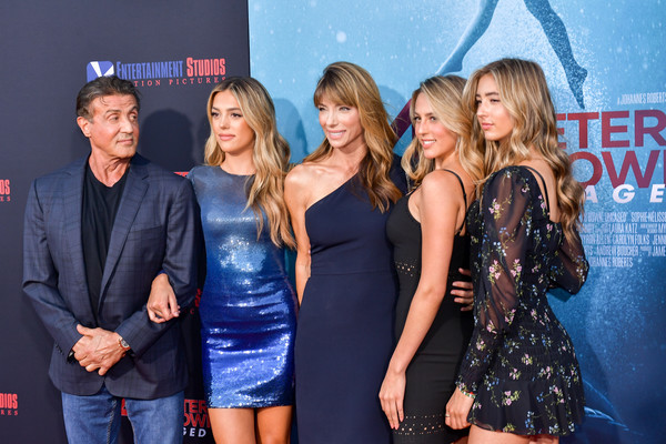 Jennifer Flavin and Sistine Rose Stallone Photos - 2 of 101