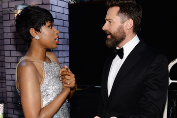 Jennifer Hudson Backstage at the Tony Awards