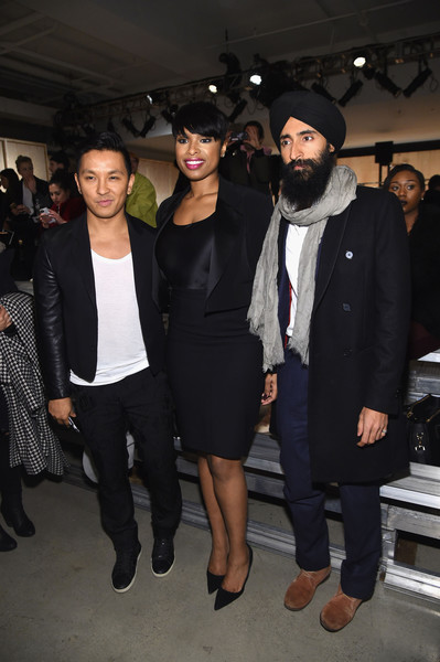 DKNY Women's - Front Row - Fall 2016 New York Fashion Week: The Shows