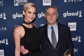 Jennifer Lawrence 27th Annual GLAAD Media Awards in New York - Backstage