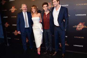 Jennifer Lawrence Sam Claflin 'The Hunger Games' Party in Cannes