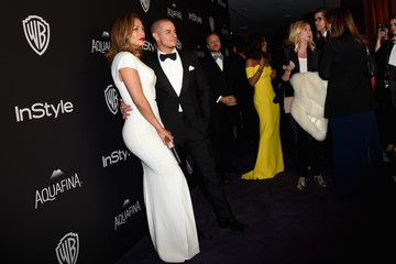Jennifer Lopez Casper Smart The 2016 InStyle and Warner Bros. 73rd Annual Golden Globe Awards Post-Party - Red Carpet