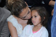 Jennifer Lopez's Daughter Emme Wore $2,400 in Chanel Accessories to Paris Fashion Week