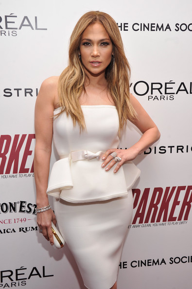 "Jennifer Lopez - FilmDistrict With The Cinema Society, L'Oreal Paris And Appleton Estate Host A Screening Of ""Parker"" - Arrivals"