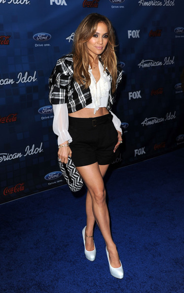 "Jennifer Lopez American Idol Judge Jennifer Lopez attends Fox's ""American Idol"" Finalist Party on March 3, 2011 in Los Angeles, California."