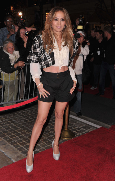 "Jennifer Lopez Singer/actress Jennifer Lopez arrives to a taping of ""Extra"" at The Grove on March 3, 2011 in Los Angeles, California."