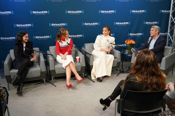 Jennifer Lopez Leah Remini SiriusXM's Town Hall With The Cast Of 'Second Act' Hosted By Andy Cohen