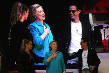 Jennifer Lopez Marc Anthony Jennifer Lopez Holds Get Out the Vote Concert for Hillary Clinton in Miami